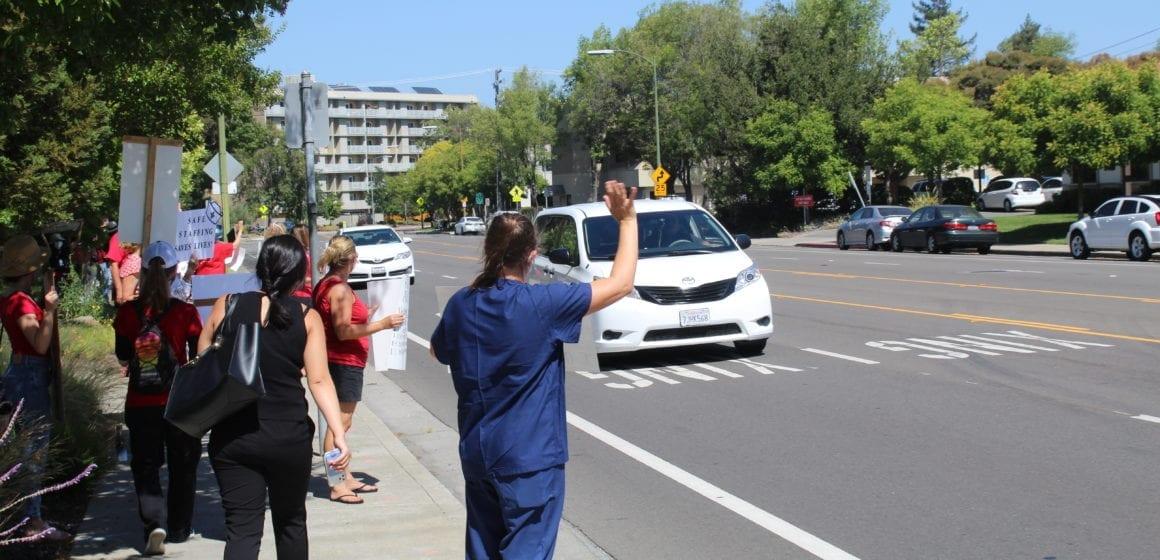 Good Samaritan nurses in San Jose protest unsafe staffing, COVID-19 risks