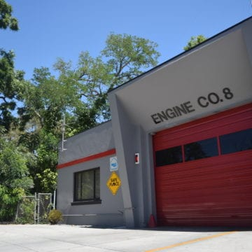 San Jose fire station at risk of erosion from Coyote Creek