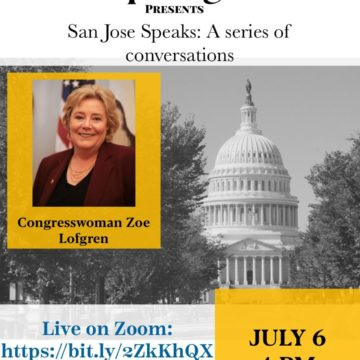 San Jose Speaks: A conversation with Congresswoman Zoe Lofgren