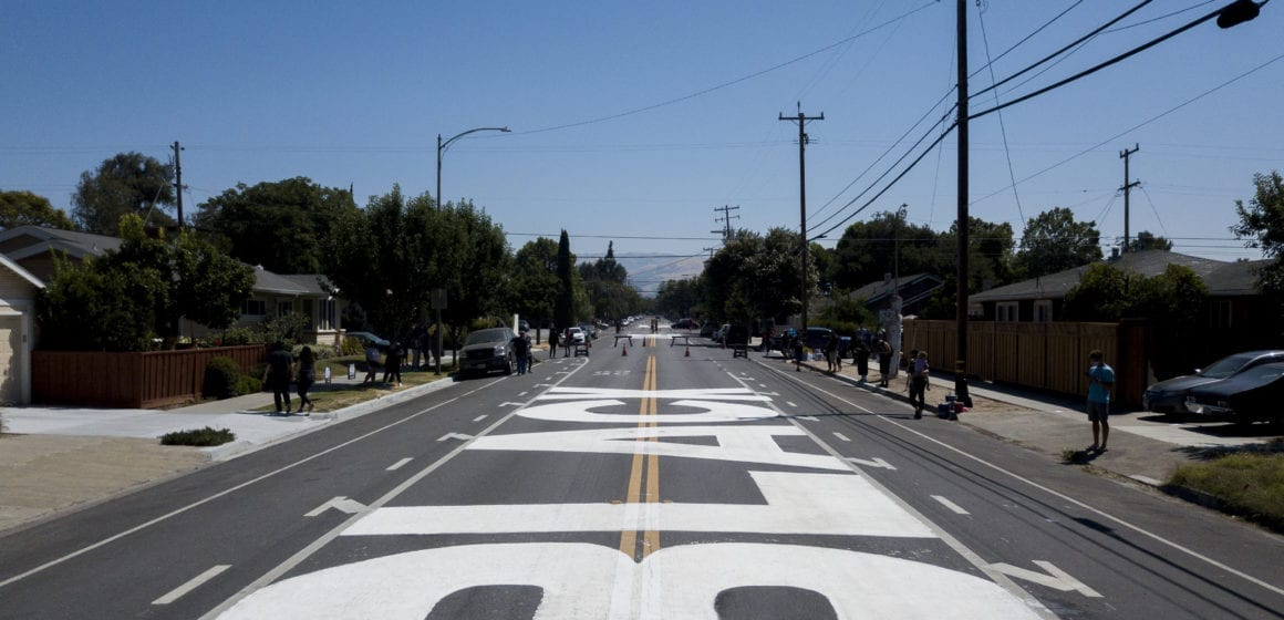 San Jose mayor wants unauthorized Black Lives Matter mural to stay