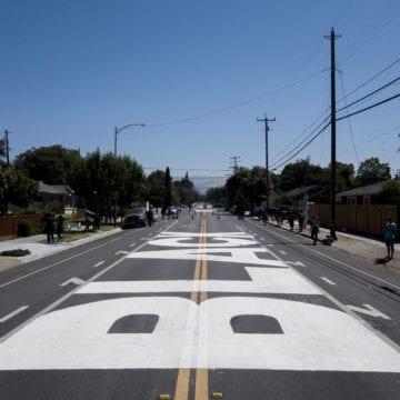 Thị trưởng San Jose muốn bức tranh tường Black Lives Matter trái phép ở lại