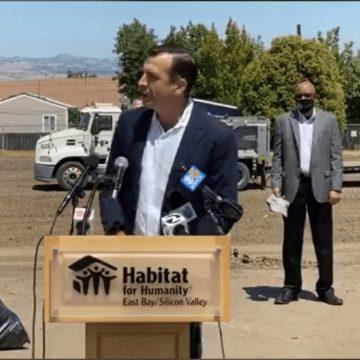 San Jose breaks ground on emergency housing for homeless