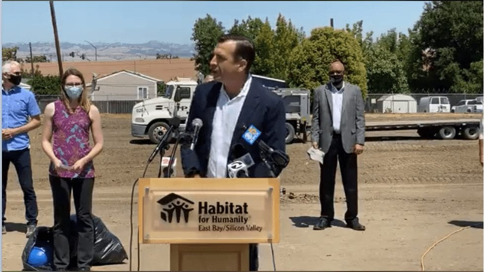 San Jose breaks ground on emergency housing for homeless