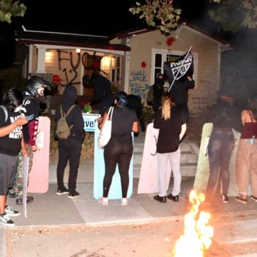 Protesters vandalize San Jose mayor's house