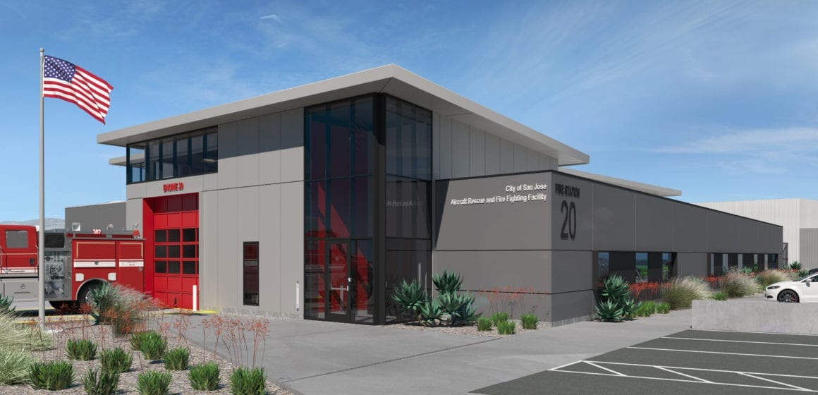 San Jose airport getting $22 million state-of-the-art fire station