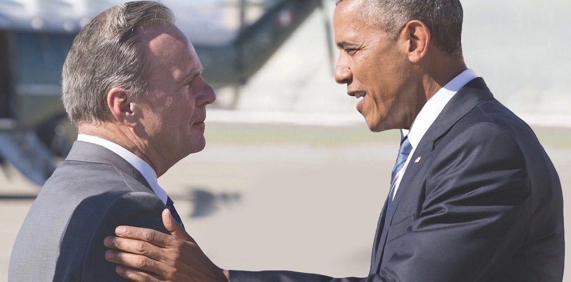 Trận chiến giành Obama: Ứng cử viên Thượng viện yêu cầu đối thủ kéo quảng cáo ngụ ý chứng thực
