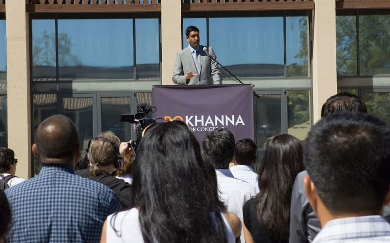 Exclusive Q&A: U.S. House District 17 candidate Rep. Ro Khanna