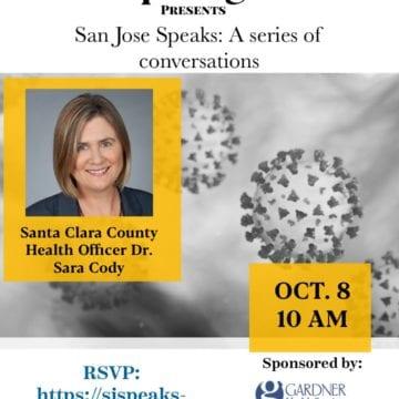 San Jose Speaks: A conversation with Dr. Sara Cody