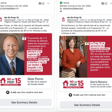 South Bay Latinas target Prop. 15 ads, call them misinformation