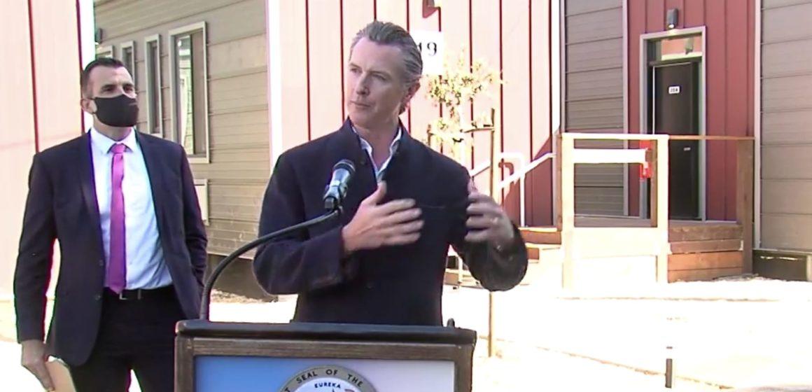 At new San Jose shelter, Newsom announces $200 million more for homeless housing