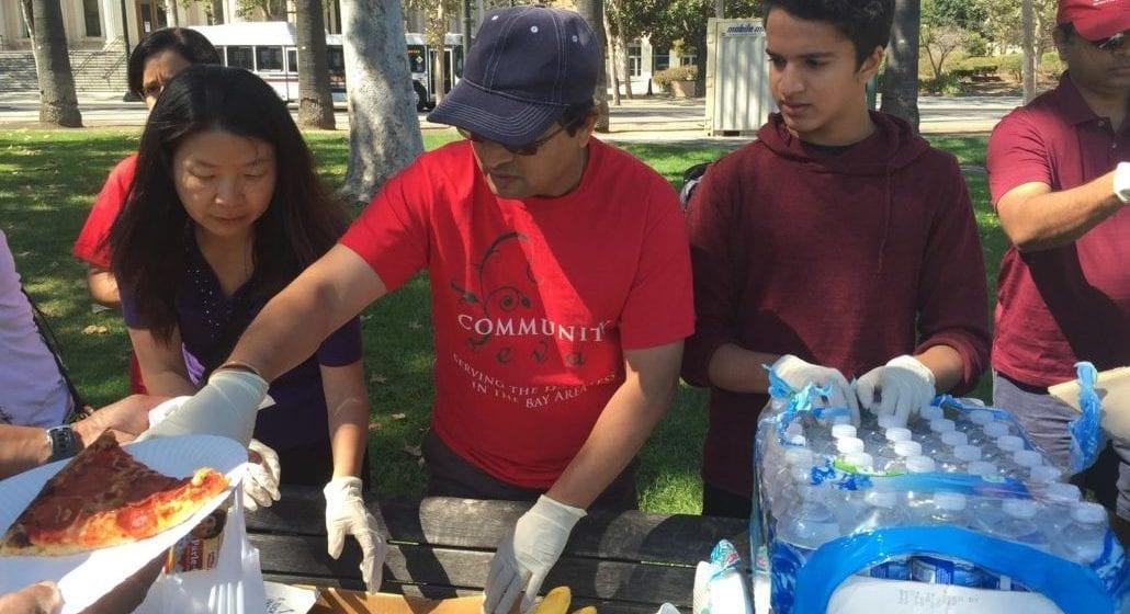 Nathan Ganeshan cho người đói ăn, phục vụ người vô gia cư ở San Jose