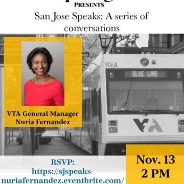 San Jose Speaks: una conversación con la gerente general de VTA, Nuria Fernandez