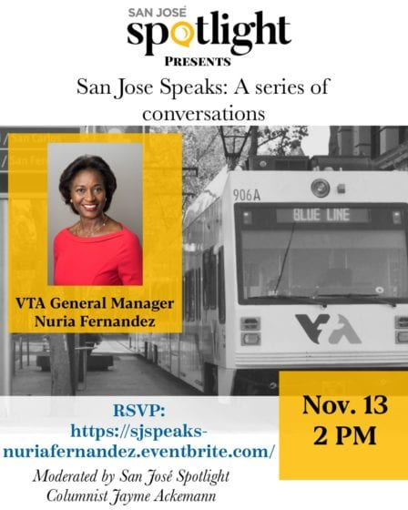 San Jose Speaks: A conversation with VTA General Manager Nuria Fernandez