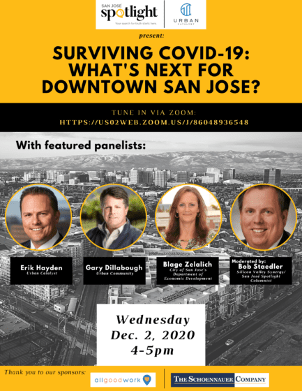 Surviving COVID-19: What's Next for Downtown San Jose?