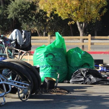 Plenty of trash but little cash in San Jose program to pay homeless to pick up garbage