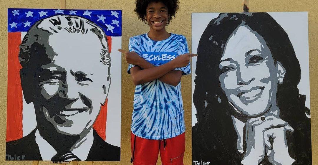 San Jose artist, 14, finds himself in national spotlight