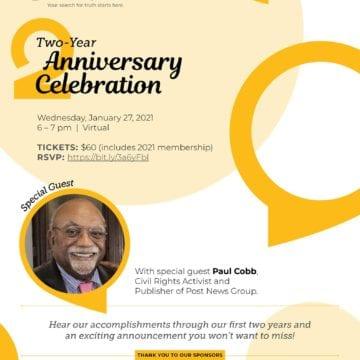Two-Year Anniversary Celebration