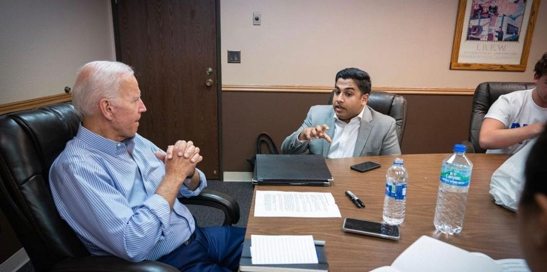 San Jose man tapped to serve as Biden's assistant press secretary