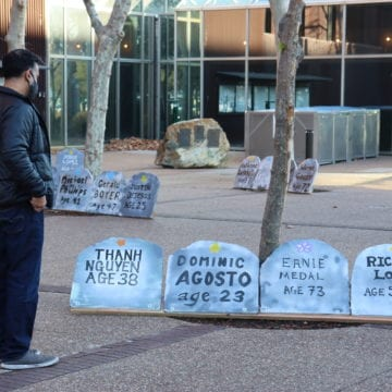 Bia mộ tôn vinh 196 người vô gia cư đã chết ở Thung lũng Silicon