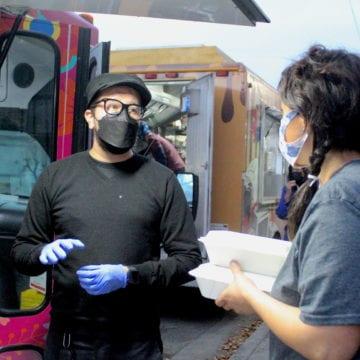 Food trucks rescue Christmas dinner for San Jose homeless