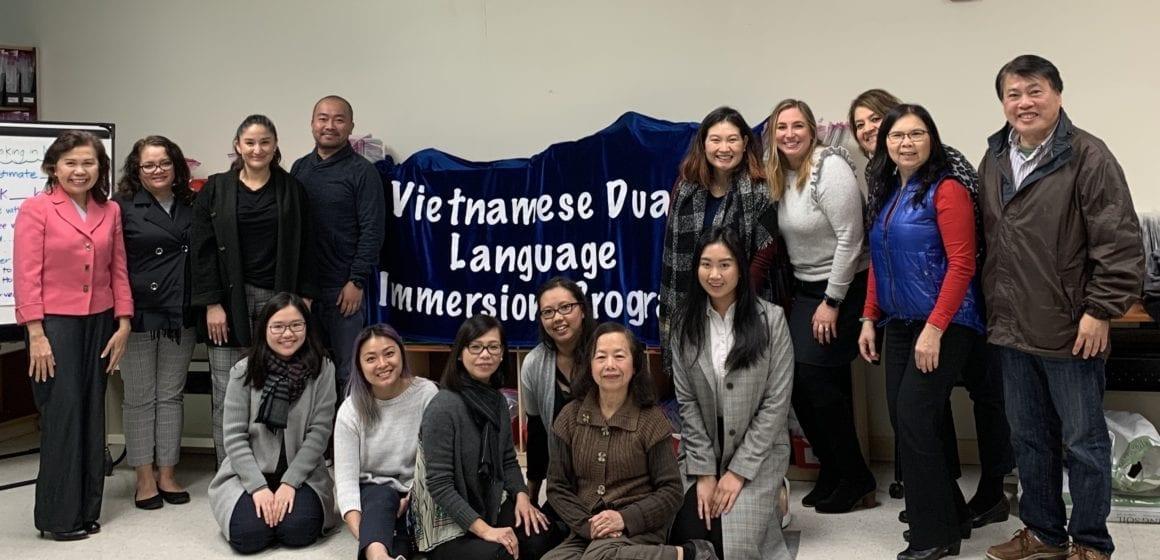 New Alum Rock district bilingual program helps students learn Vietnamese