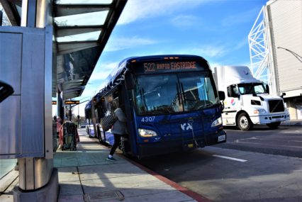 Silicon Valley transit agency offers buses while light rail is down