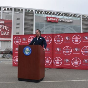 State's largest vaccination site opens in Santa Clara County at Levi's Stadium