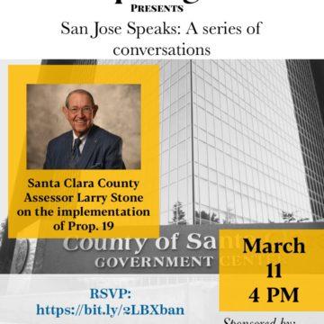 San Jose Speaks: A conversation with Santa Clara County Assessor Larry Stone