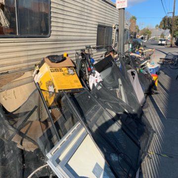 San Jose nonprofit serving homeless says city won't clear RVs, trash