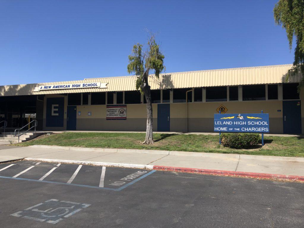 Los estudiantes del Distrito Escolar Unificado de San José regresaron a la instrucción en persona el 21 de abril. Foto de Lorraine Gabbert.