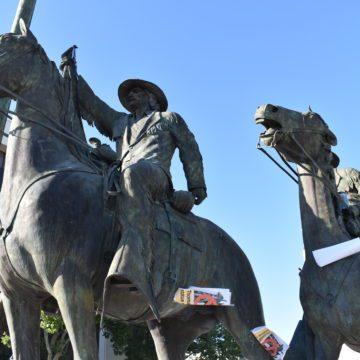 Thomas Fallon statue headed for San Jose's broom closet