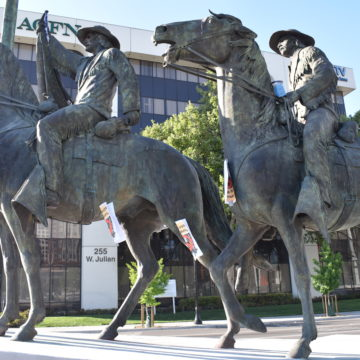 ¿Qué sigue para la controvertida estatua de Thomas Fallon?