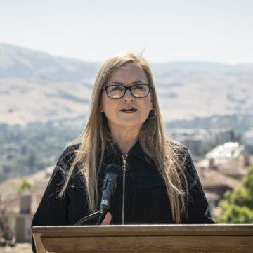 Documentos estatales muestran que Cindy Chávez se postula para alcalde de San José