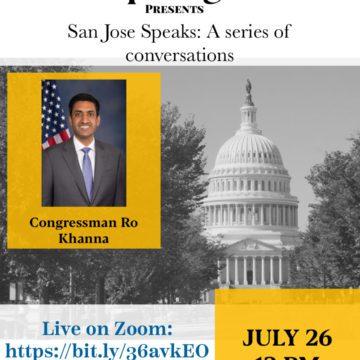 San Jose Speaks: A conversation with Congressman Ro Khanna
