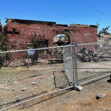 San Jose loses historic building in Alviso