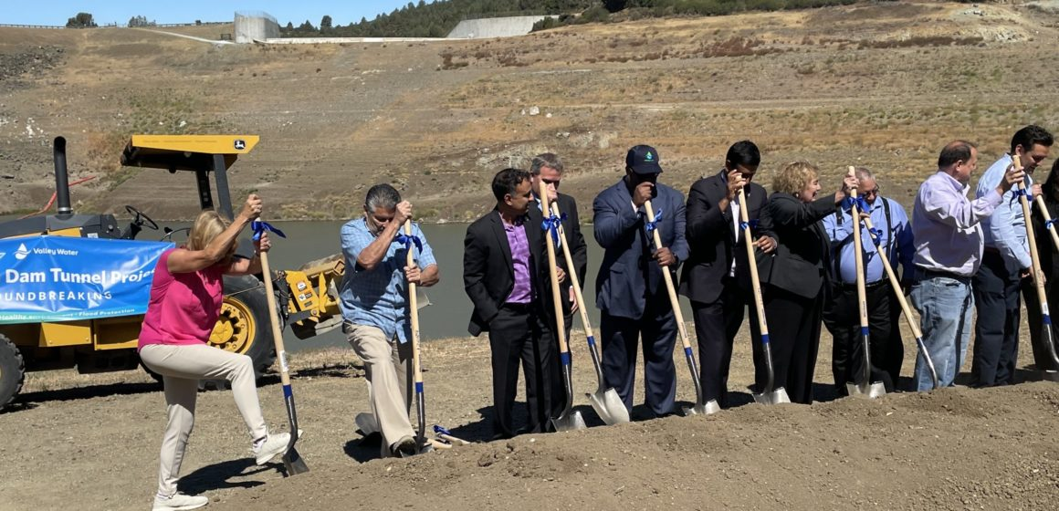 Dam project leaves Santa Clara County's largest drinking water source dry