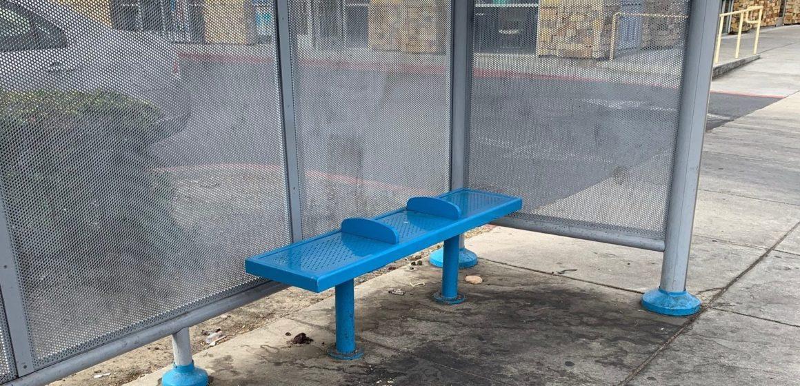 Las paradas de autobús del vecindario de San José luchan con el mantenimiento