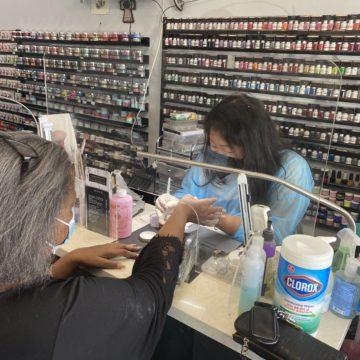 Los salones de uñas del condado de Santa Clara aún se tambalean por el cierre de la pandemia