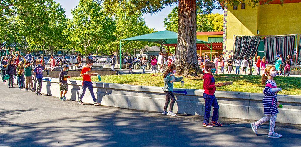 Các trường học của Hạt Santa Clara chuẩn bị cho đợt bùng phát COVID-19
