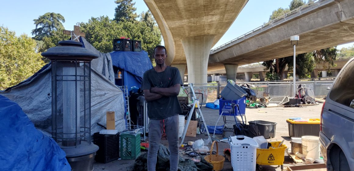 In San Jose, homeless camp services vary by location