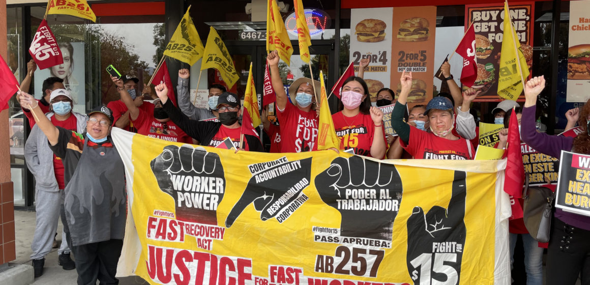 San Jose worker protests heat, wage theft at Burger King