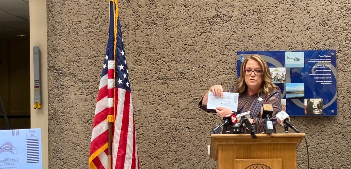 Registrador del condado de Santa Clara listo para la elección de destitución