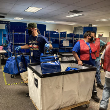 How did Latinos vote in the statewide recall election?